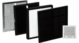 AirWorx Filter Set with Ozone Plate