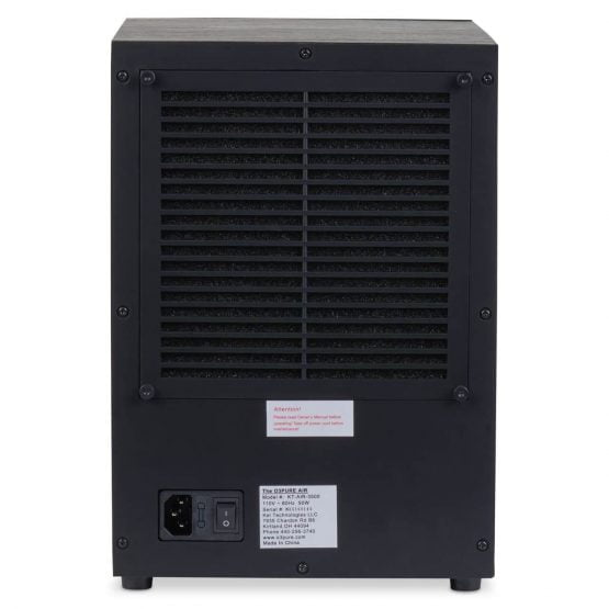 O3 Pure Air Purifier | Rear View
