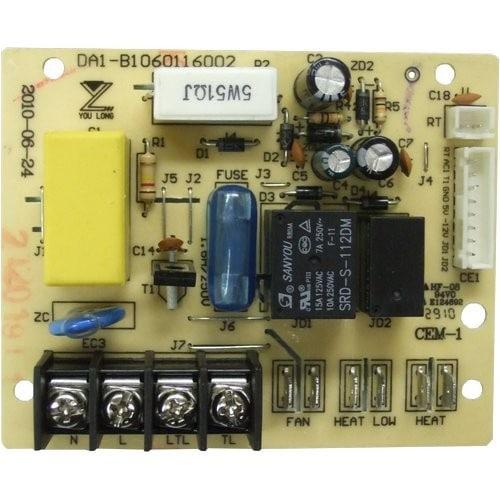 EdenPURE Heater Rear Control Board   A4495