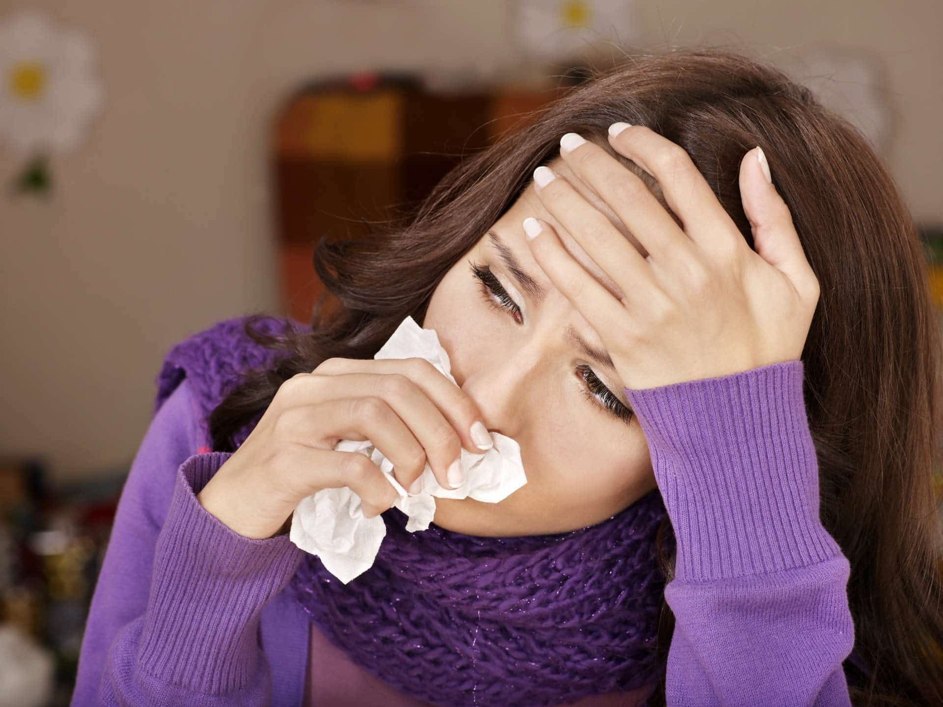 Air Purifiers Can Ease Winter Allergy Symptoms