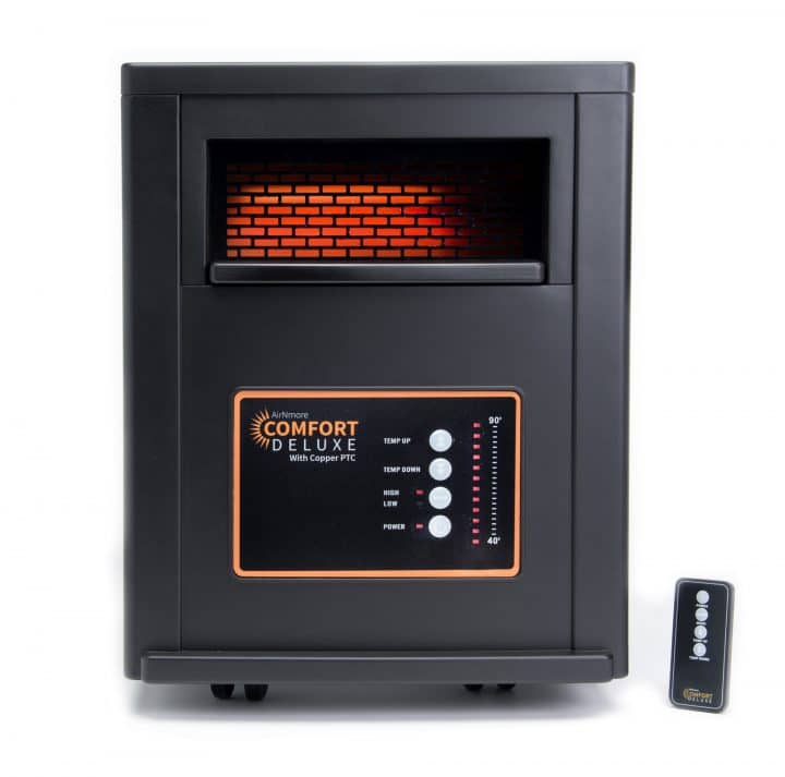 Comfort Deluxe® with Copper PTC Infrared Space Heater