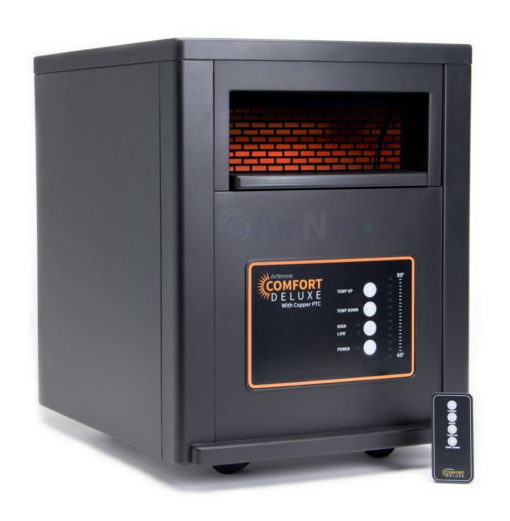 AirNmore Comfort Deluxe Infrared Zone Heater