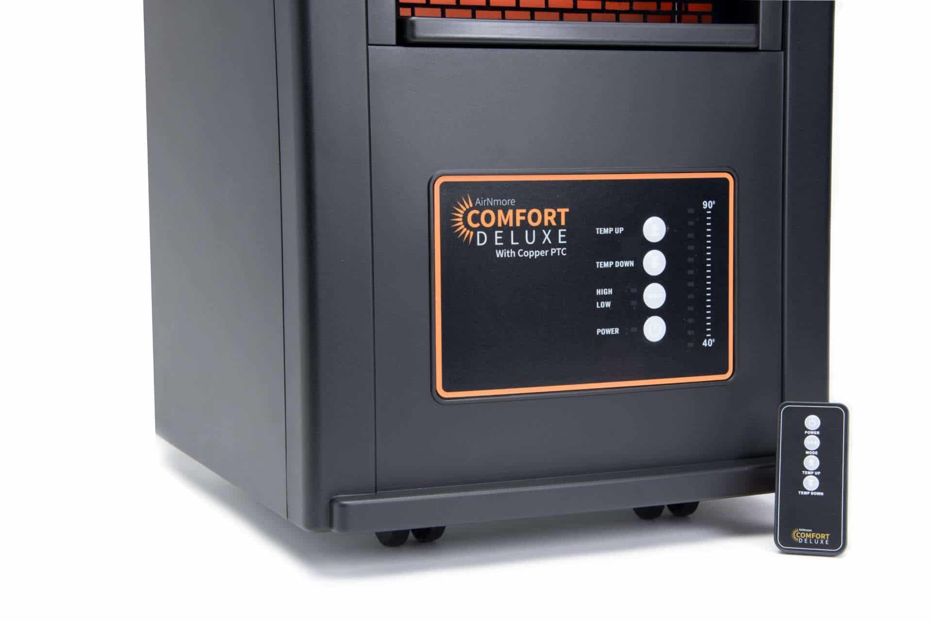 AirNmore Comfort Deluxe Heater