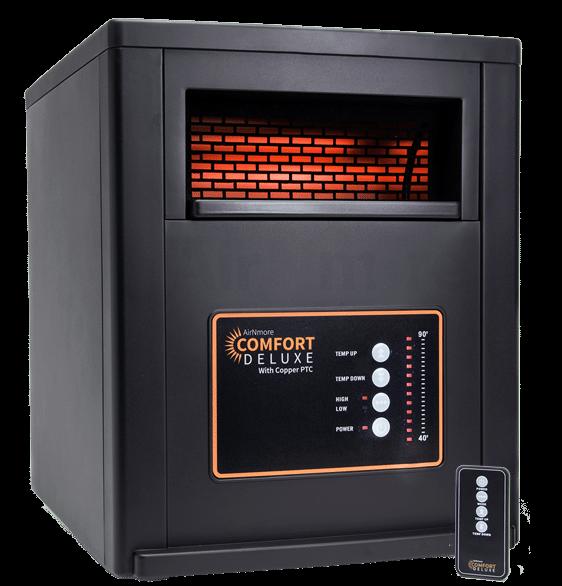 AirNmore Comfort Deluxe Space Heater