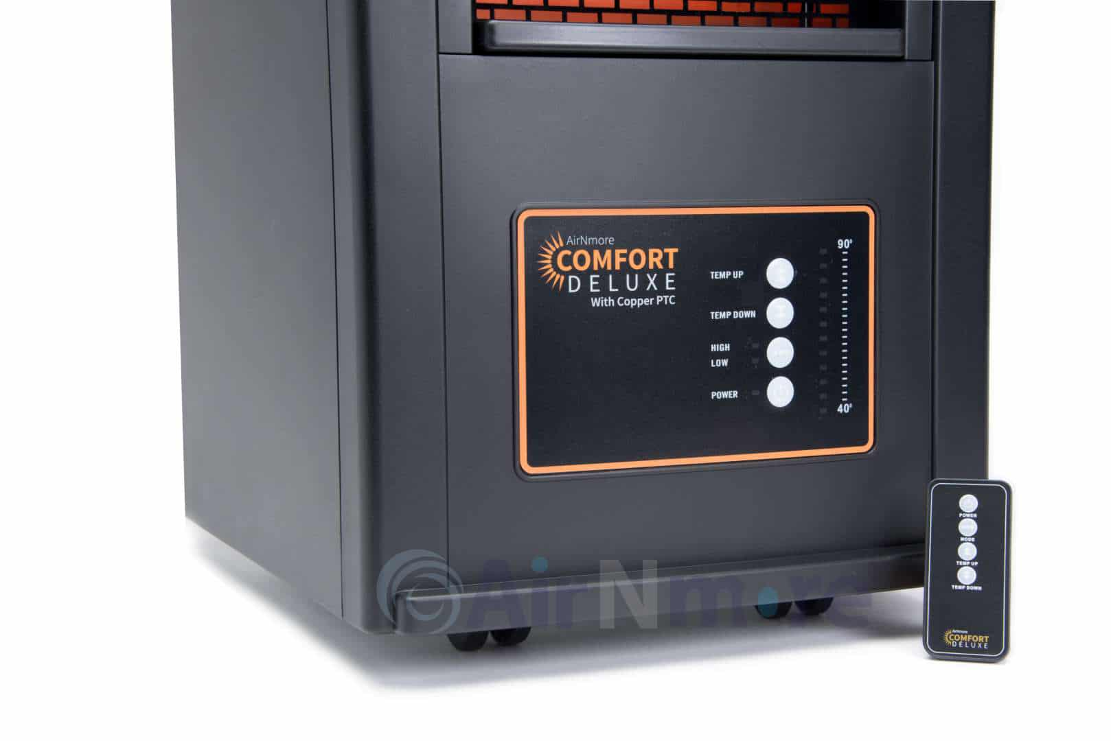 Comfort Deluxe With Copper Ptc Infrared Zone Heater By