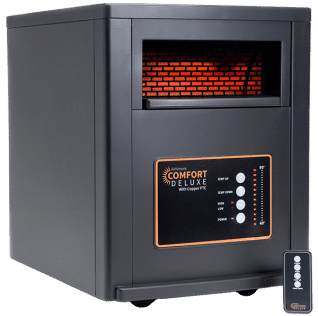 AirNmore Comfort Deluxe Heater with Remote