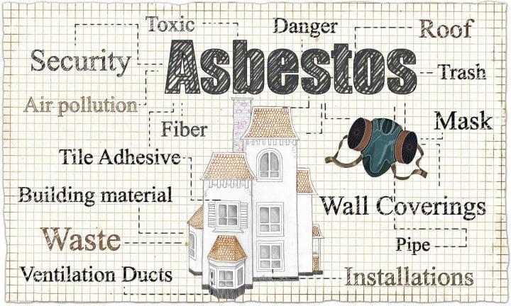 Airborne asbestos