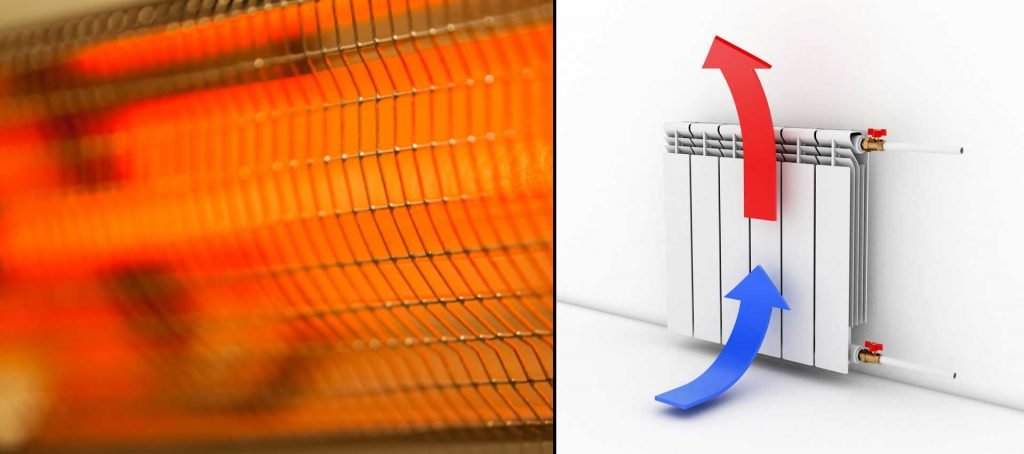 infrared vs conventional heating